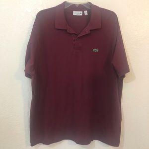 Lacoste Men's polo shirt SZ 3XL